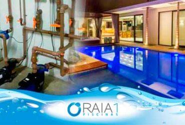 Manutenção em casa de máquinas de piscinas em BH/MG