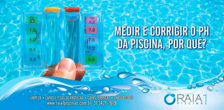 PH da piscina