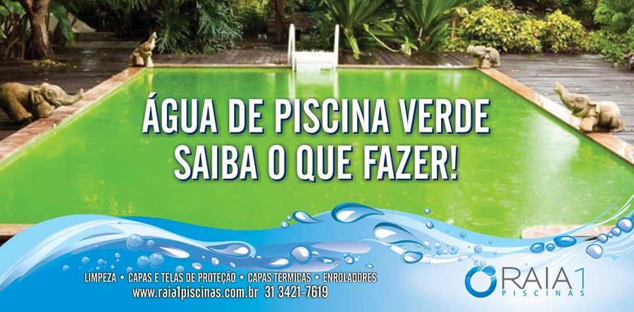 Gua de piscina verde saiba o que fazer raia1 piscinas for Piscina que pierde agua