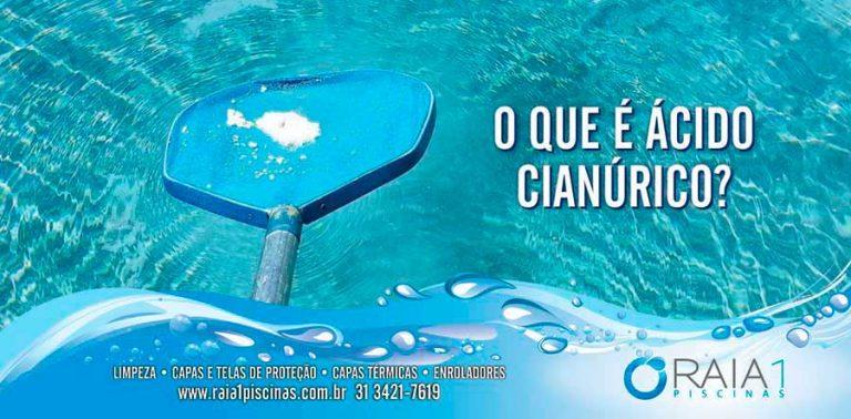 acido cianurico na piscina
