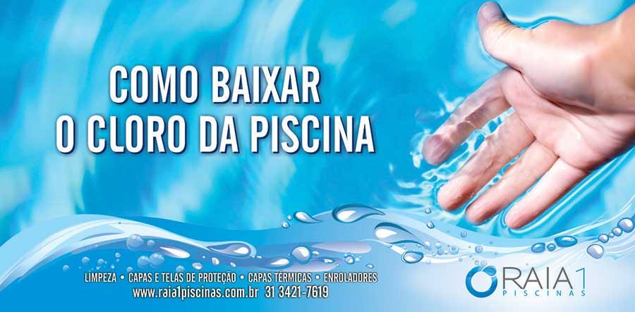 Como baixar o cloro da piscina em bh raia1 piscinas for Cloro para piscina