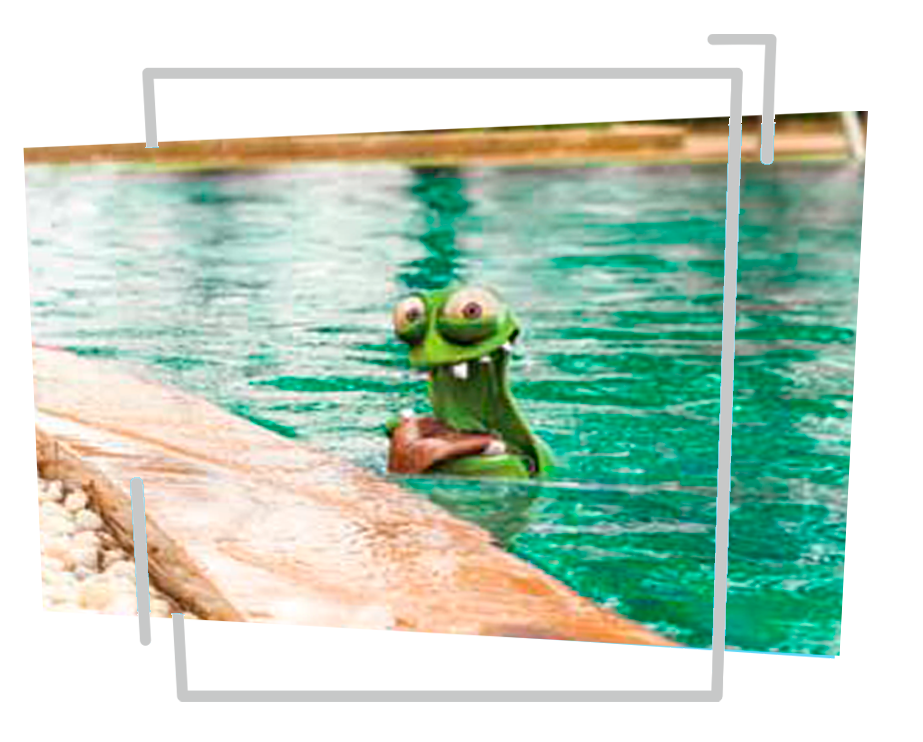 Tela de proteção para piscinas