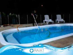 como aspirar a piscina bh