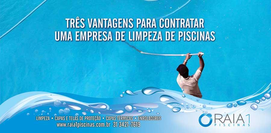 Tr s vantagens para contratar uma empresa de limpeza de for Empresas de piscinas