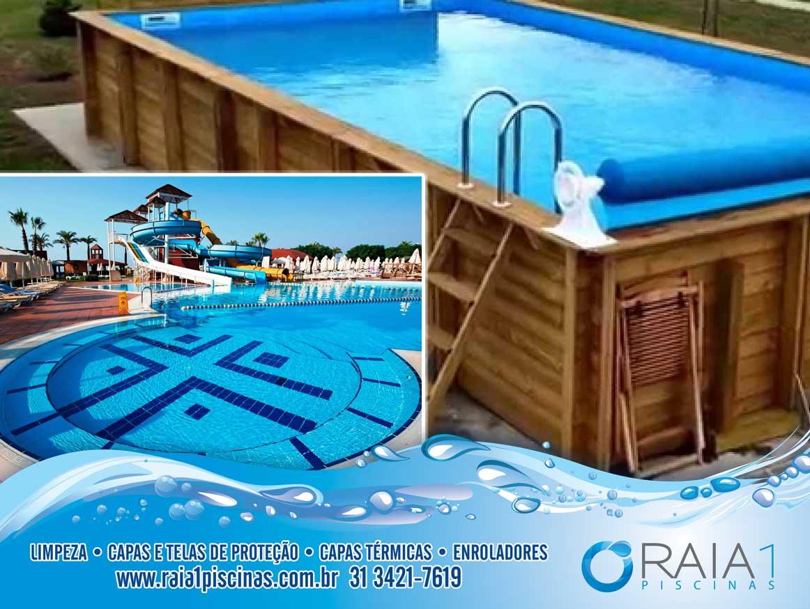 Limpeza de piscinas grandes e limpeza de piscinas pequenas bh