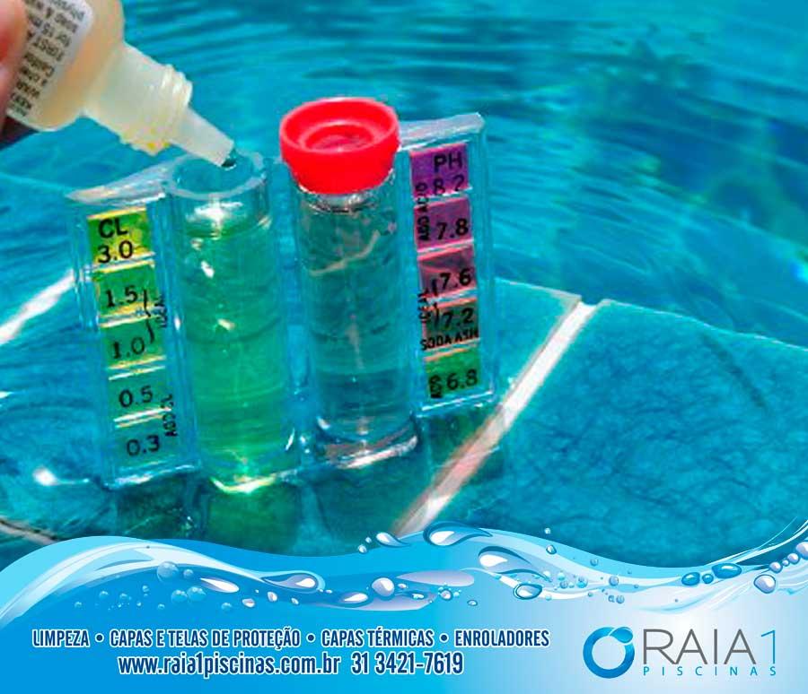 diminui alcalinidade da piscina em bh