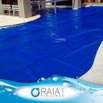 capa termica para piscina