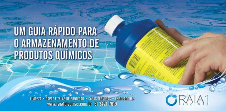 armazenar produto quimico para piscina