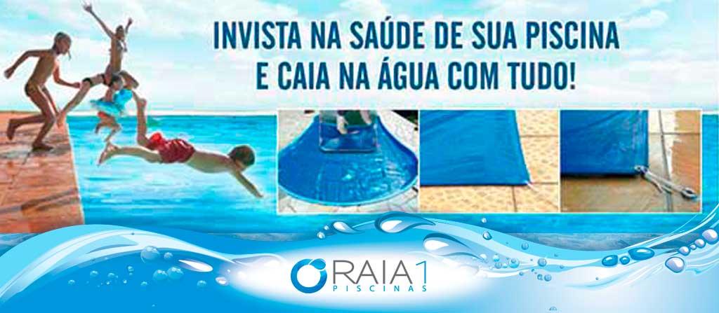 tratamento fisico da piscina