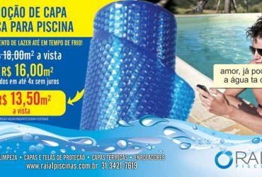 Promoção Capa Térmica para Piscinas
