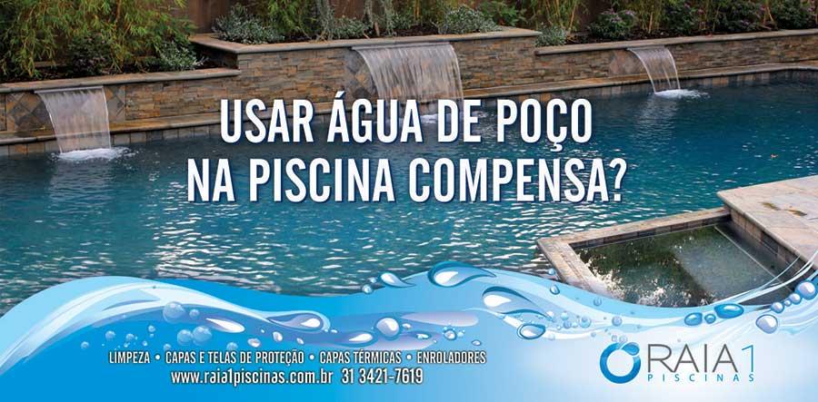 Usar gua de po o na piscina compensa raia1 piscinas for Cubas de agua para piscina