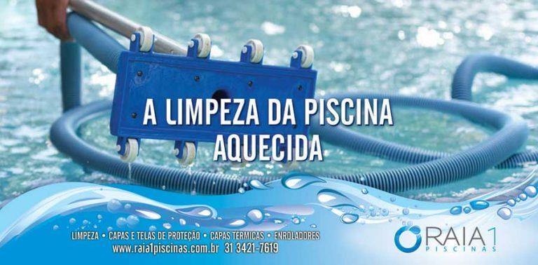 limpeza da piscina aquecida bh